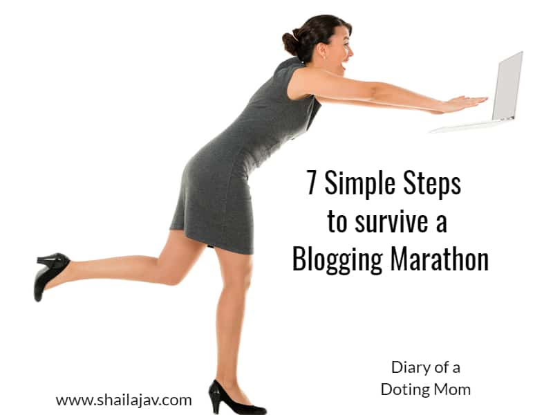 Blogging Marathon: 7 simple steps to help you survive one