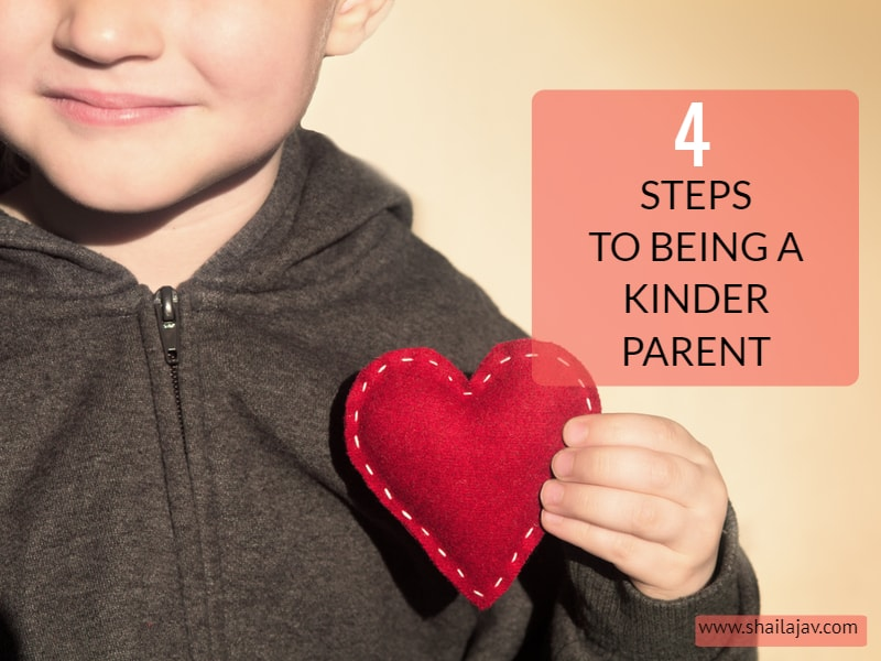 Would you call yourself a kind parent? Does it take effort for you to maintain your cool in the face of parenting challenges? It can be tough. But with a bit of effort and 4 simple tips that I share here, parenting with kindness becomes simpler. #ParentingTips #Parenting #Empathy #Kids