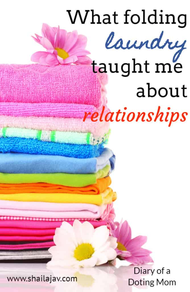 As a member of the sandwich generation, I am taking care of two sets of needs: My parents' and my child's. Here's how folding laundry was an insight into mindfulness.