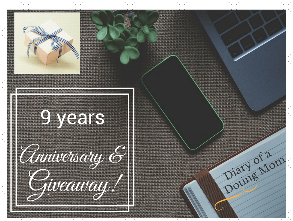 Anniversary,Giveaway,Shailaja_Diary of a doting mom