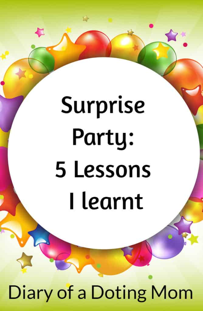 Surprise Party 5 Lessons