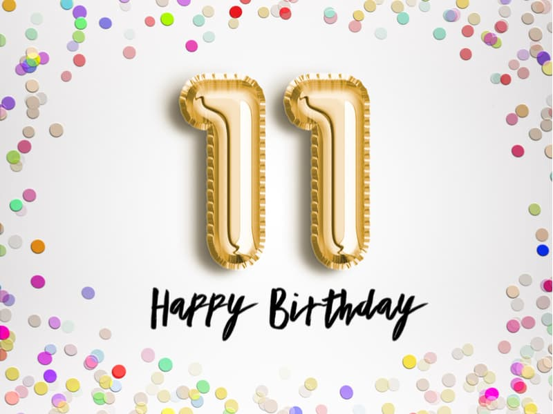 11 Birthday wishes for a 11 year old