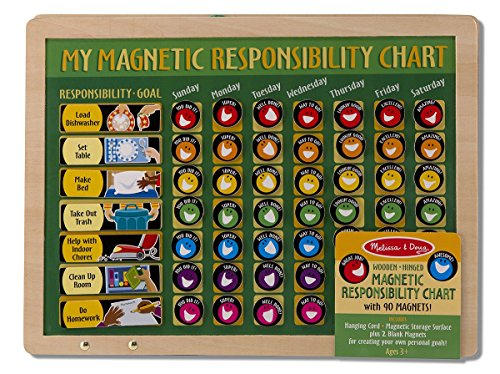 Chores for kids_Melissa and Doug responsibility chart