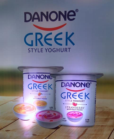 Flavoured greek yoghurt