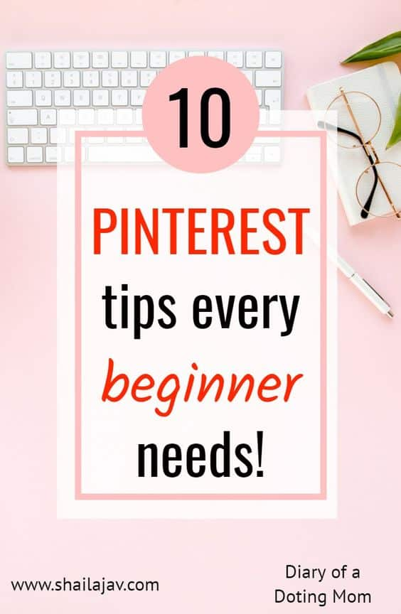Pinterest Tips for beginners