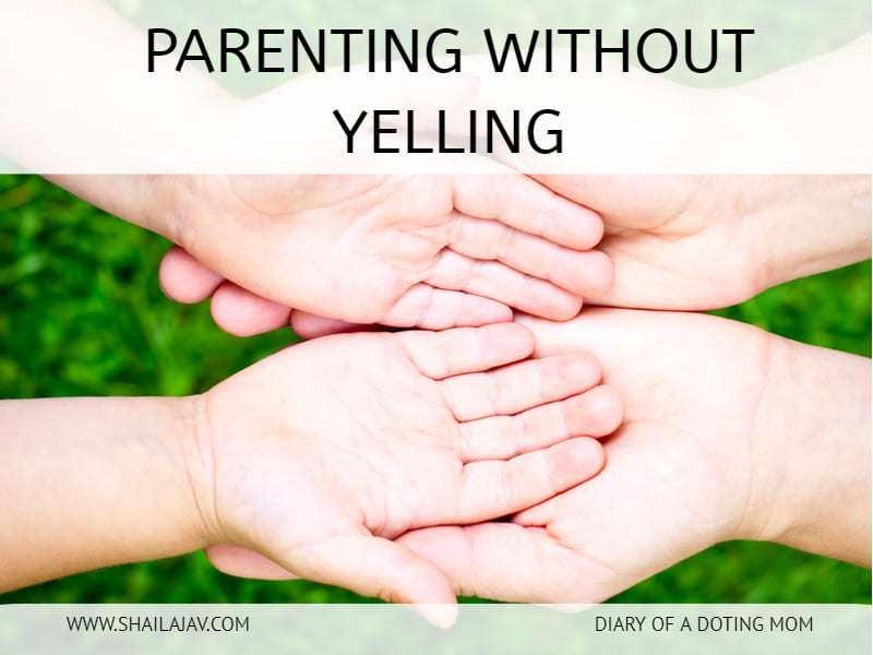 Do you find yourself yelling at your kids often? Here are 5 tips I share on how you can go without yelling at your child and learn to be a calmer parent. #ParentingTips #PeacefulParent #PositiveParenting #YellFree