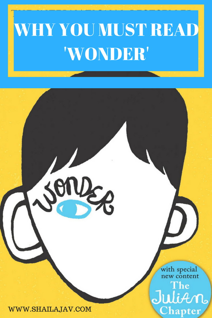 Wonder by R.J.Palacio Book Cover