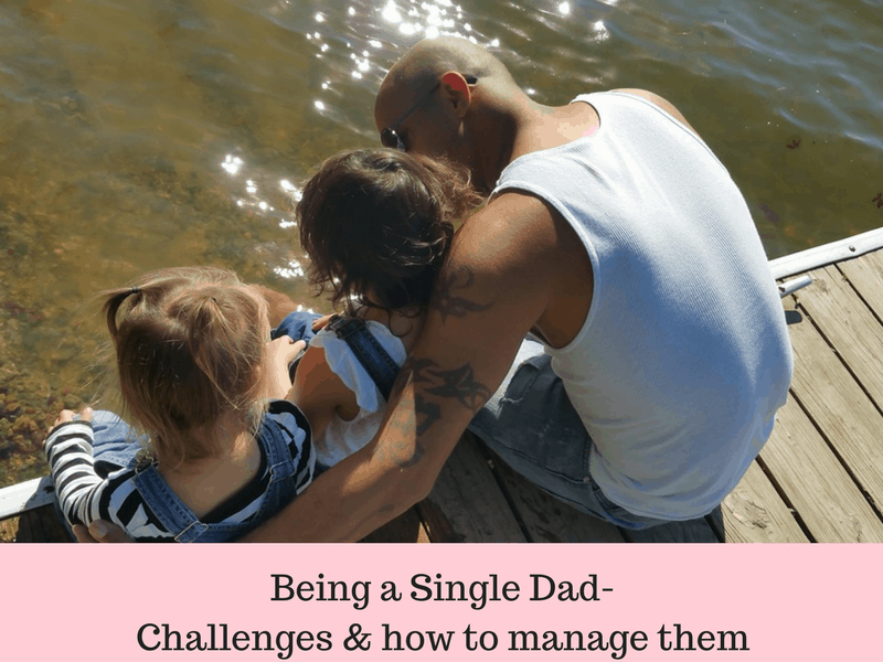 Single Dad to kids: Challenges and how to face them