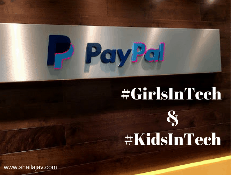 PayPal Girls in Tech and KIds in Tech
