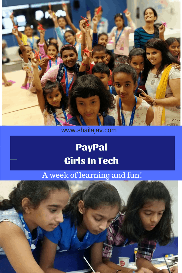 PayPal Girls in Tech and Kids in Tech Workshop May 2018