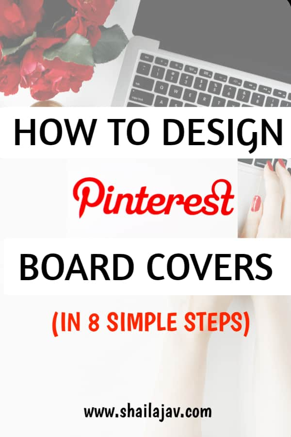 Board Covers for Pinterest in 8 simple steps