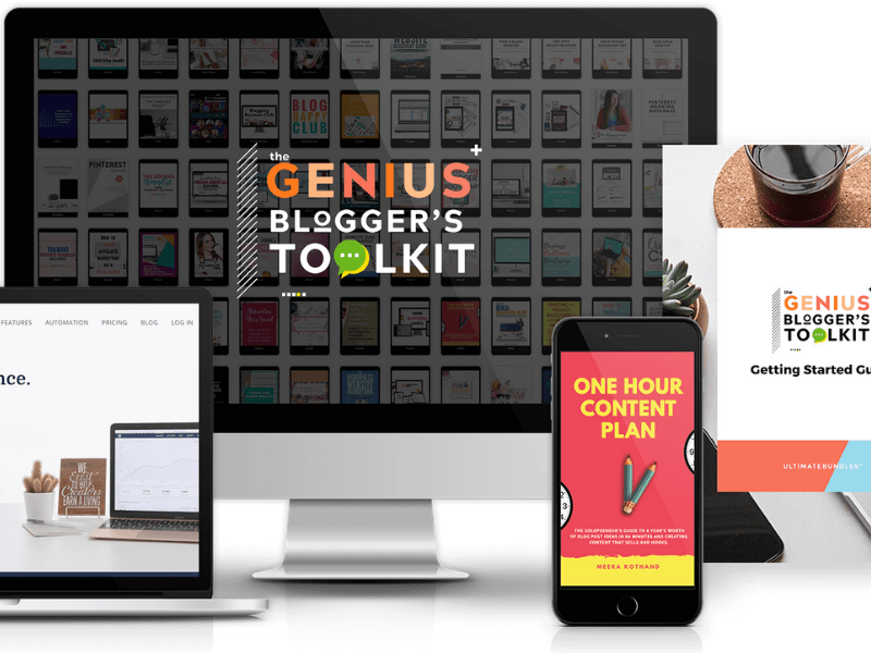 Genius Bloggers Toolkit Overview: Should you buy it this year? What it contains PLUS some freebies!