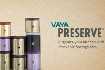 Vaya Preserve Review: Stackable storage jars for food