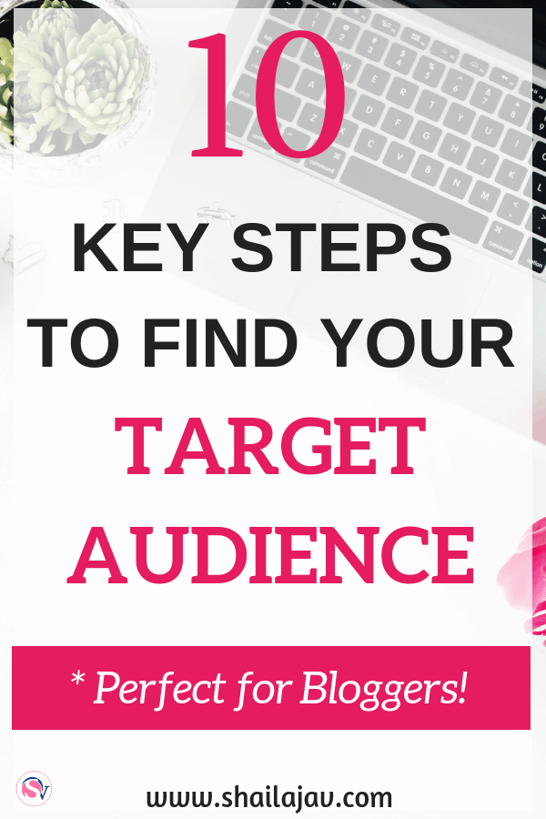 How to find your ideal audience by researching their social media presence, your Google analytics and your blogging content. Define your target audience with these ten tips. Read them now.  #Shailajav #Blogging #BloggingTips #BloggingIdeas