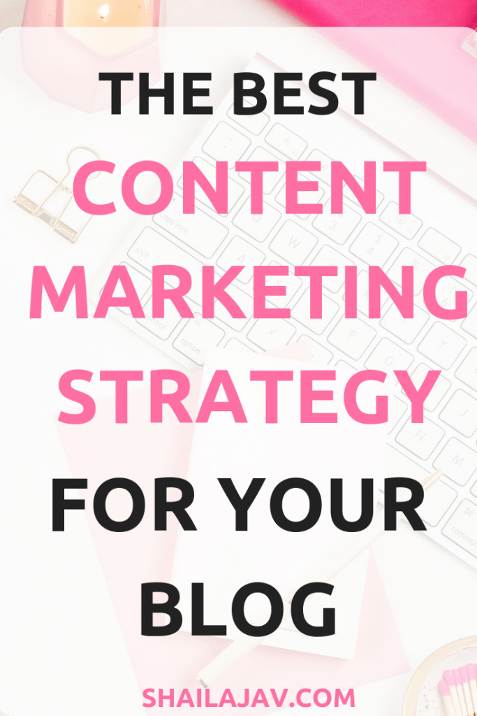 A Content Marketing Strategy is absolutely important when building your blog for success. Learn how to create content that converts, drives traffic to your blog and builds on a social media strategy that works!  #Shailajav #ContentMarketing #BloggingTips #BloggingIdeas