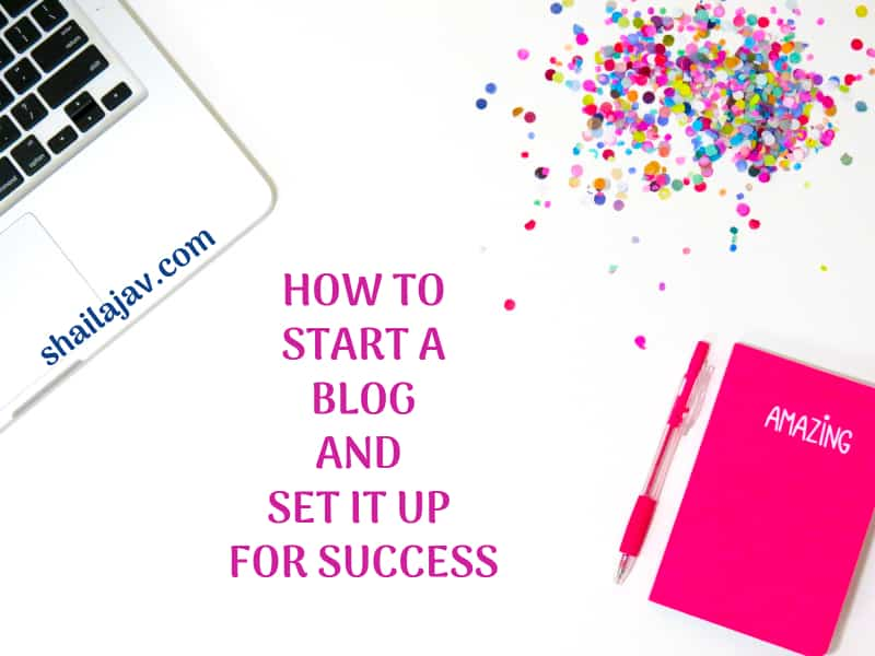 How to start a blog and set it up for success. Use these 10 tips plus 5 bonus tips to make your blog stand out.