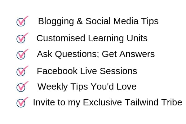 Facebook Support Group for Blogging and Social Media Tips by Shailaja