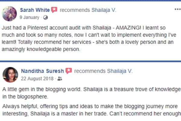 Facebook Group for Blogging and Social Media Strategy by Shailaja